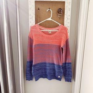 Roxy ombré sweater
